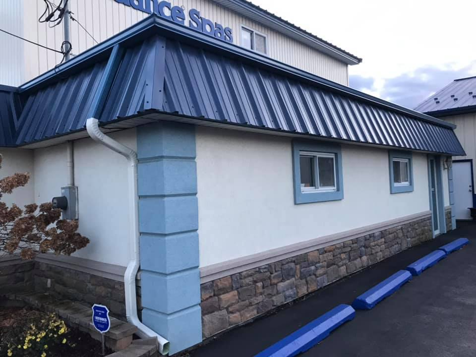 Geraty Pools and Spa Commercial Gutters